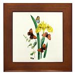 Butterflies of Summer Framed Tile