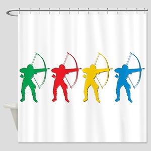 Archery Archers Shower Curtain
