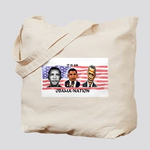 Obama-Nation Flag Tote Bag