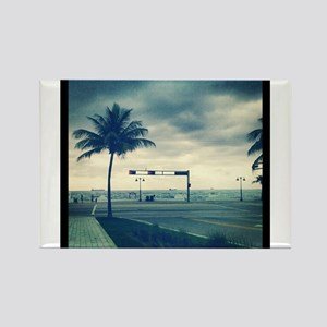 Fort lauderdale beach Rectangle Magnet