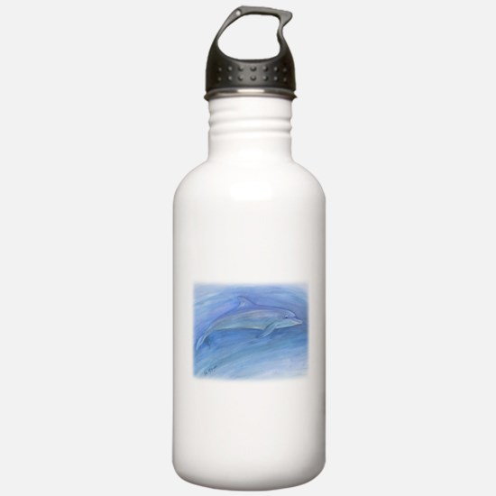 bottlenose dolphin Water Bottle