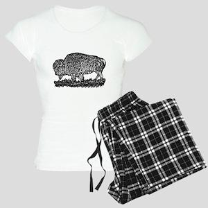 B@W Buffalo Women's Light Pajamas