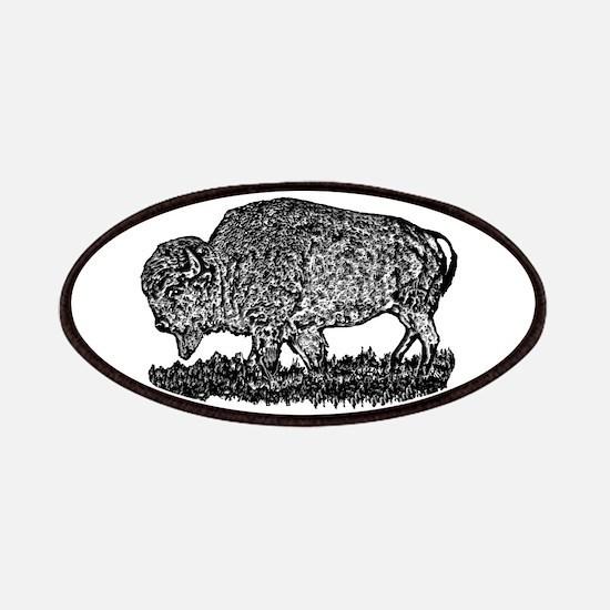 B@W Buffalo Patches