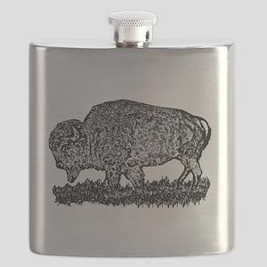 B@W Buffalo Flask