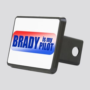 Brady Is My Pilot Rectangular Hitch Cover