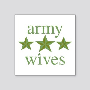 """Army Wives Square Sticker 3"""" x 3"""""""