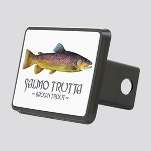 browntroutslamotrutta Rectangular Hitch Cover