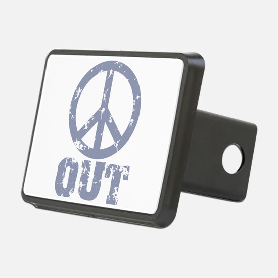 Peace Out Hitch Cover