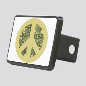peacesigncamo Rectangular Hitch Cover