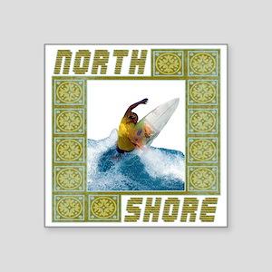 """northshore1 Square Sticker 3"""" x 3"""""""
