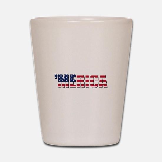 Merica USA Shot Glass