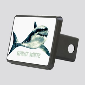 Great White Rectangular Hitch Cover
