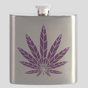 purpleaf10x10 Flask