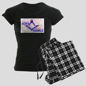Prince Hall Masons 2 Women's Dark Pajamas