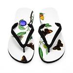 Butterflies of Summer Flip Flops