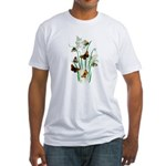 Butterflies of Summer Fitted T-Shirt