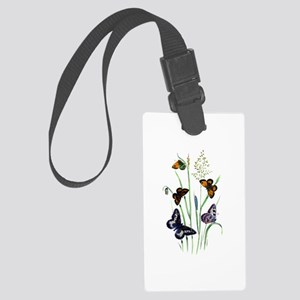 Butterflies of Summer Large Luggage Tag