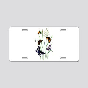 Butterflies of Summer Aluminum License Plate
