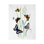 Butterflies of Summer Twin Duvet