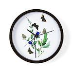 Butterflies of Summer Wall Clock