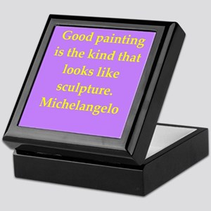 michelangelo7 Keepsake Box