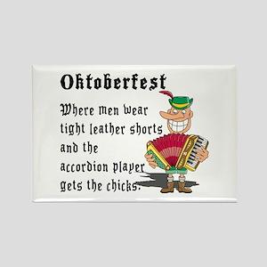 Funny Oktoberfest Rectangle Magnet