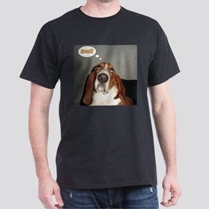 Basset thoughts Dark T-Shirt
