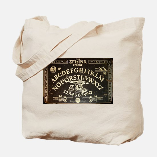 Vintage Sphinx Ouija Board Tote Bag