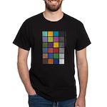 Photographers Color Checker tee Dark T-Shirt