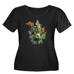Butterflies of Summer Women's Plus Size Scoop Neck