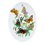 Butterflies of Summer Ornament (Oval)