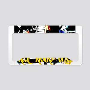 Real Riders Only License Plate Holder