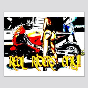 Real Riders Only Small Poster