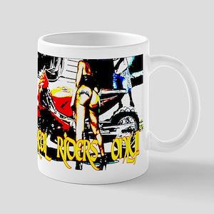 Real Riders Only Mug