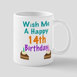 Wish me a happy 14th Birthday Mug