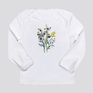 Butterflies of Summer Long Sleeve Infant T-Shirt