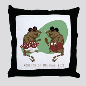R.O.U.S's Throw Pillow