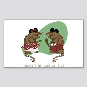 R.O.U.S's Sticker (Rectangle)