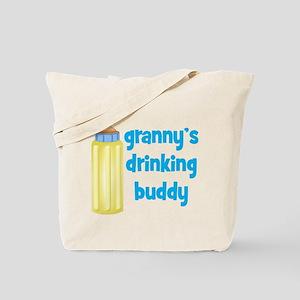 Grannys Drinking Buddy Tote Bag