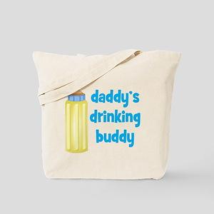 Daddys Drinking Buddy Tote Bag