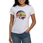 XMusic2-BlueM Collie Women's T-Shirt