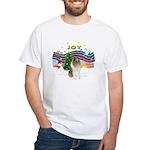 XMusic #1-Collie (sw-$) White T-Shirt