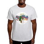 XMusic #1-Collie (sw-$) Light T-Shirt
