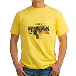 XMusic #1-Collie (sw-$) Yellow T-Shirt