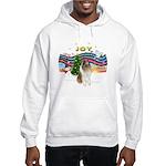 XMusic #1-Collie (sw-$) Hooded Sweatshirt