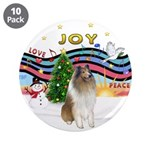 """XMusic #1-Collie (sw-$) 3.5"""" Button (10 pack)"""