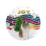 """XMusic #1-Collie (sw-$) 3.5"""" Button (100 pack"""