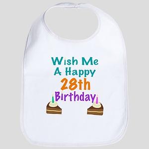 Wish me a happy 28th Birthday Bib
