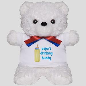 Papas Drinking Buddy Teddy Bear