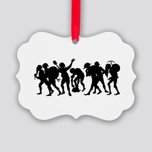 The Lucky 7 Picture Ornament